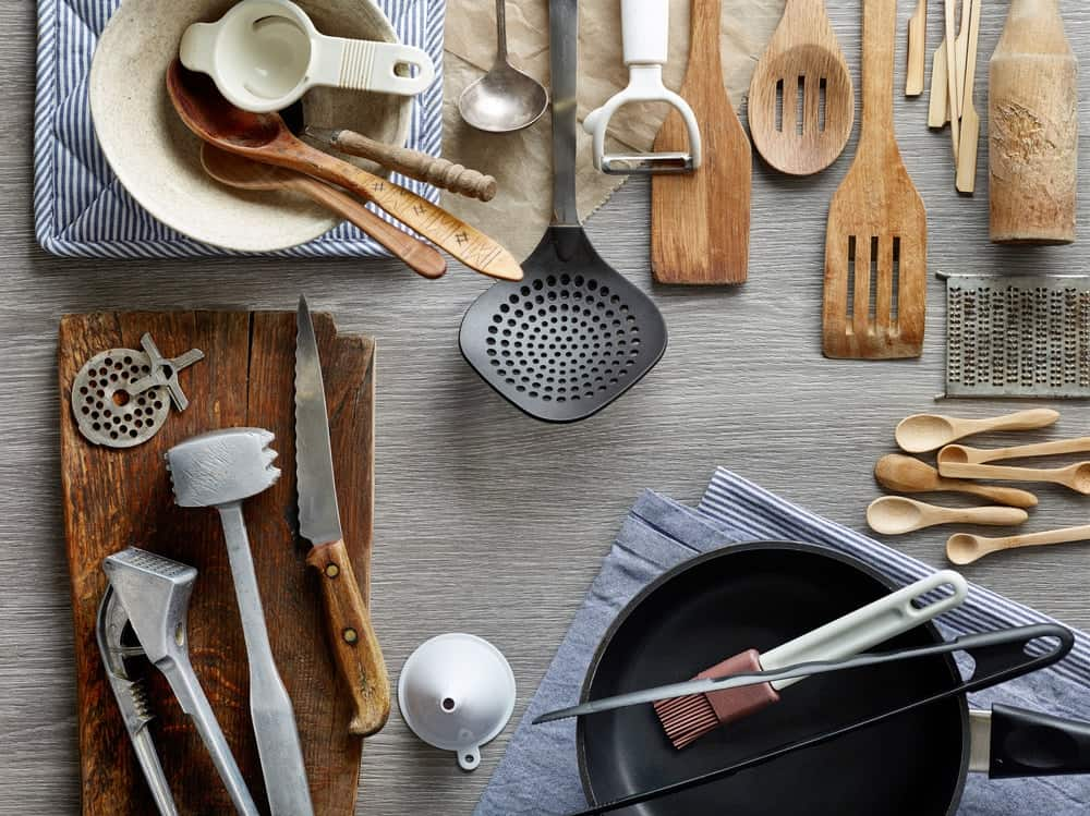 A list of essential kitchen items